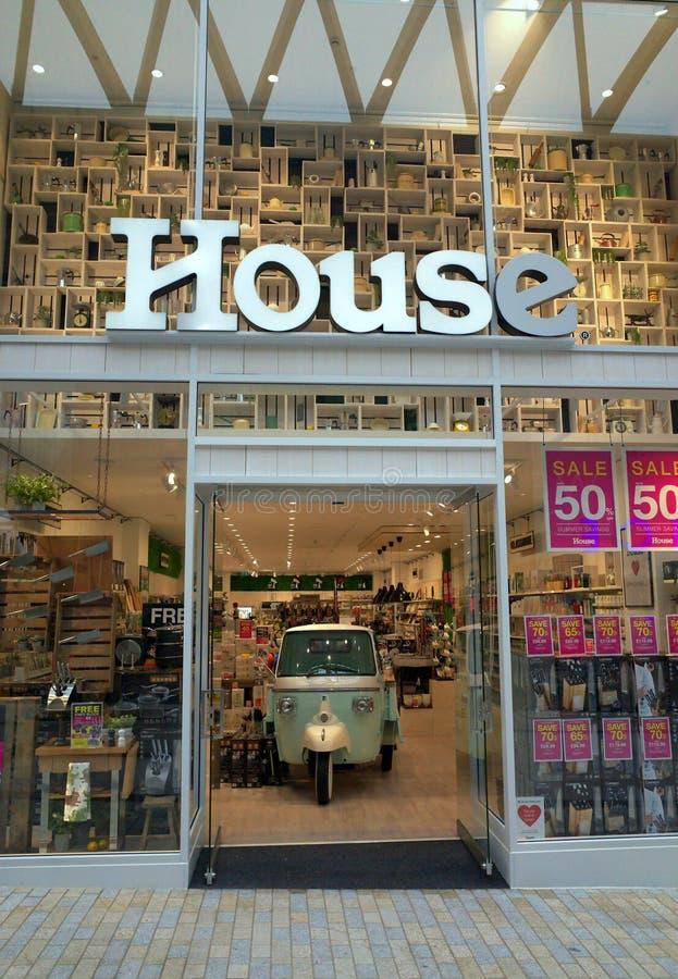 Le magasin de cuisine de Chambre et à la maison d'articles dans Bracknell, Angleterre photos stock