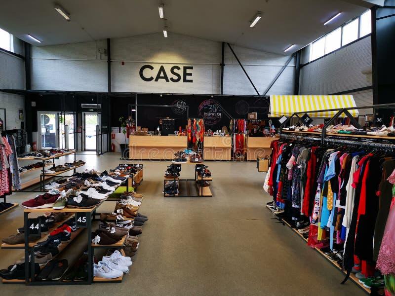 Le magasin de Miniprix chez Otopeni, Roumanie images stock