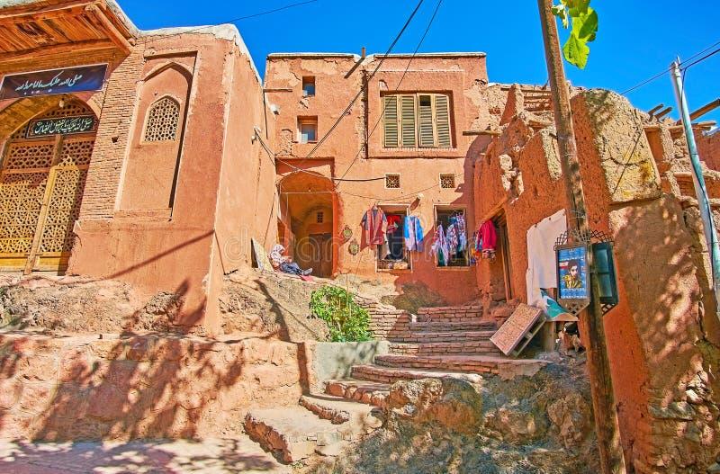 le magasin de travail manuel, Abyaneh photo libre de droits