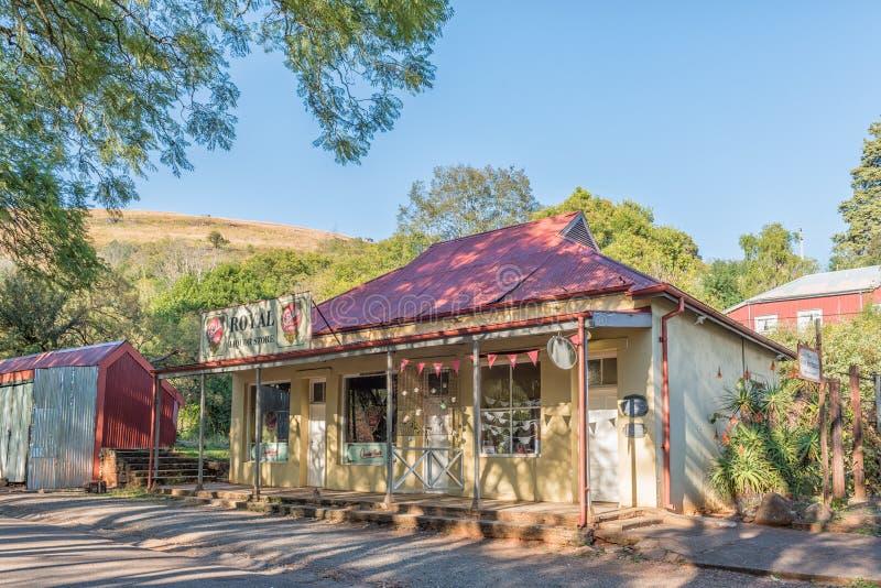 Le magasin historique Royal Liquor Store dans le Repos des pèlerins photos libres de droits