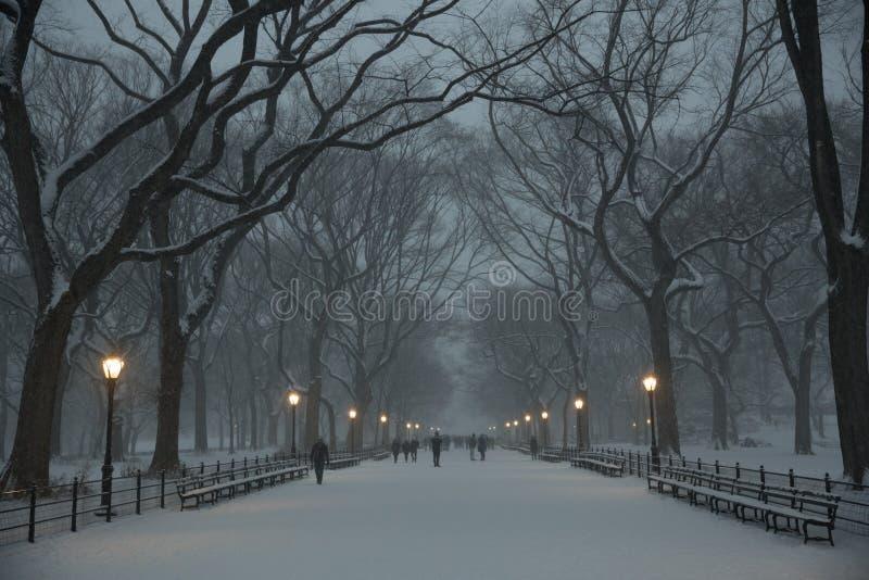 Le mail dans Central Park images stock
