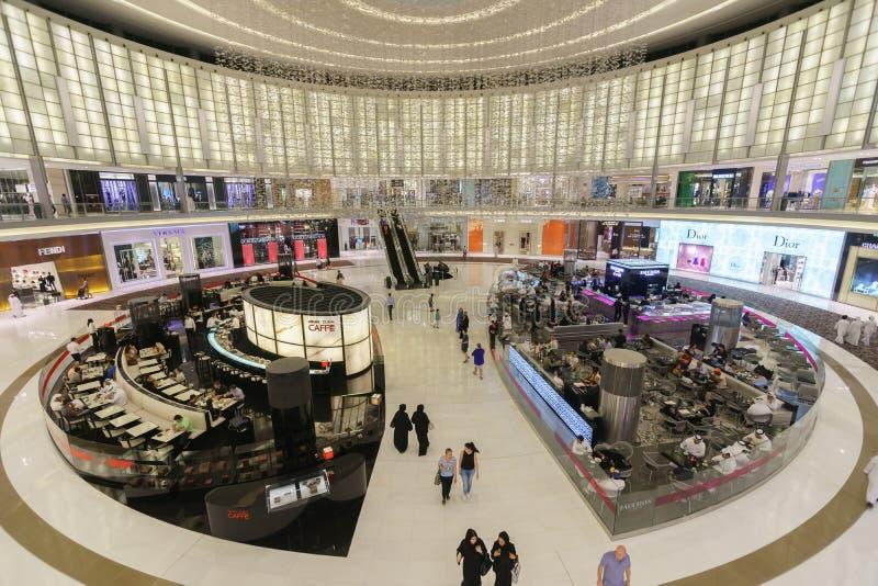 Le mail de Dubaï images libres de droits