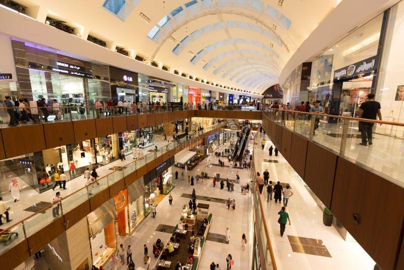 Le mail de Dubaï photos libres de droits