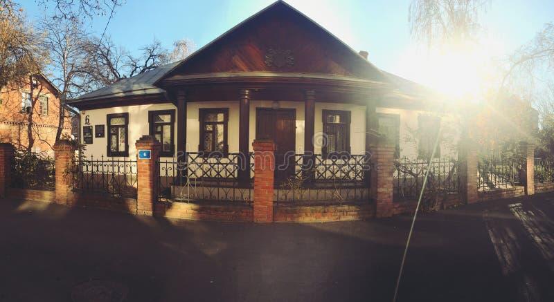 Le maison-musée photo stock
