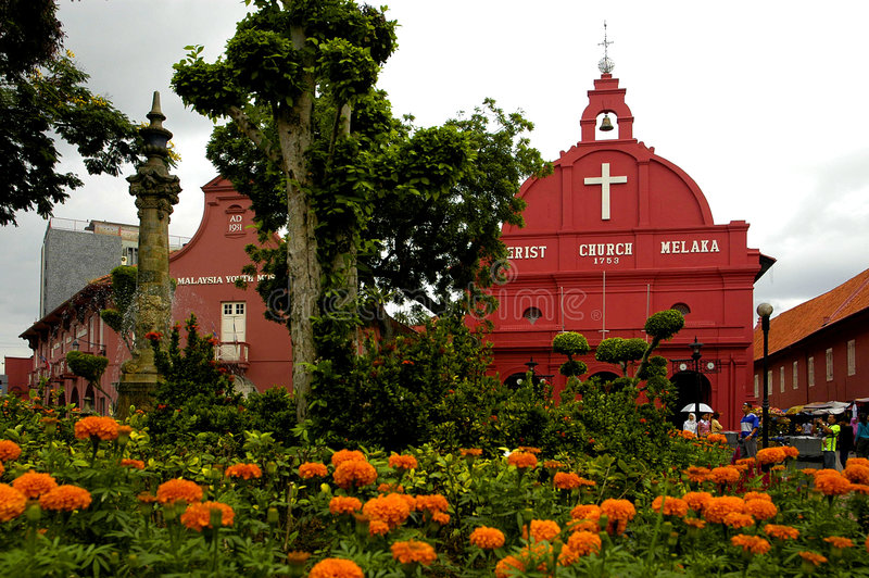 Le Malacca, Malaisie photo stock