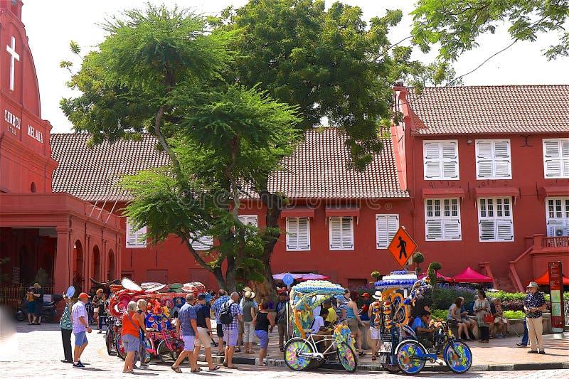 Le Malacca, Malaisie images libres de droits