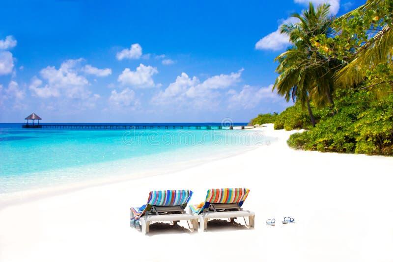 Le Maldive, l'Eden su terra immagini stock libere da diritti