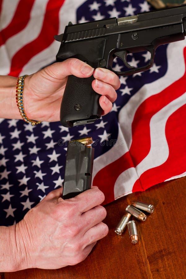 Secondo concetto di emendamento fotografie stock libere da diritti