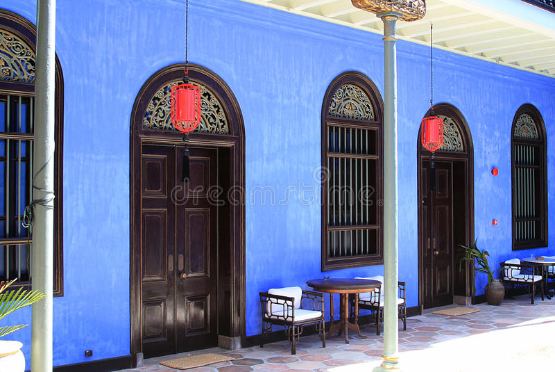 Le manoir de Cheong Fatt Tze, Georgetown, Penang image stock