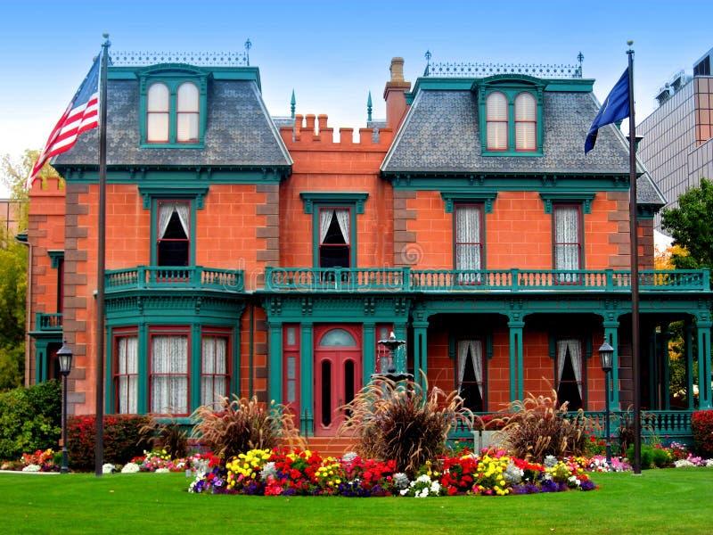 Le manoir/héritage de Deveraux fait du jardinage, Salt Lake City photo libre de droits