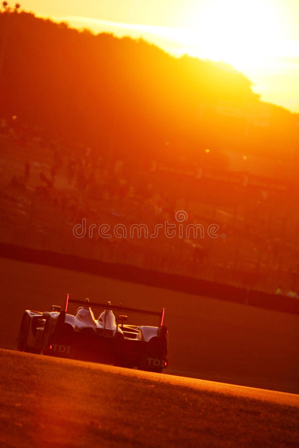 Le Mans 24H race stock photos