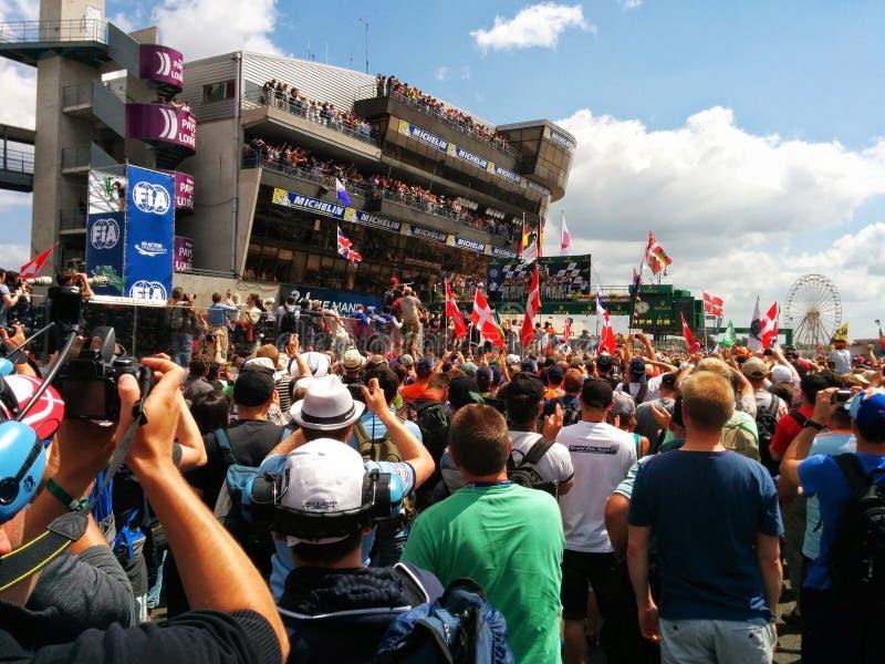 2014 Le Mans stock fotografie