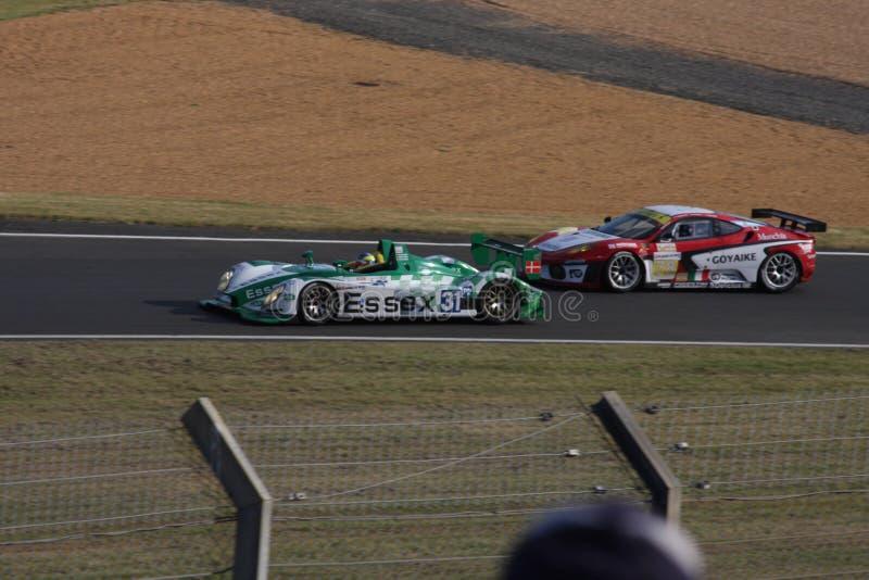 Le Mans Bieżnego samochodu obwód zdjęcie royalty free