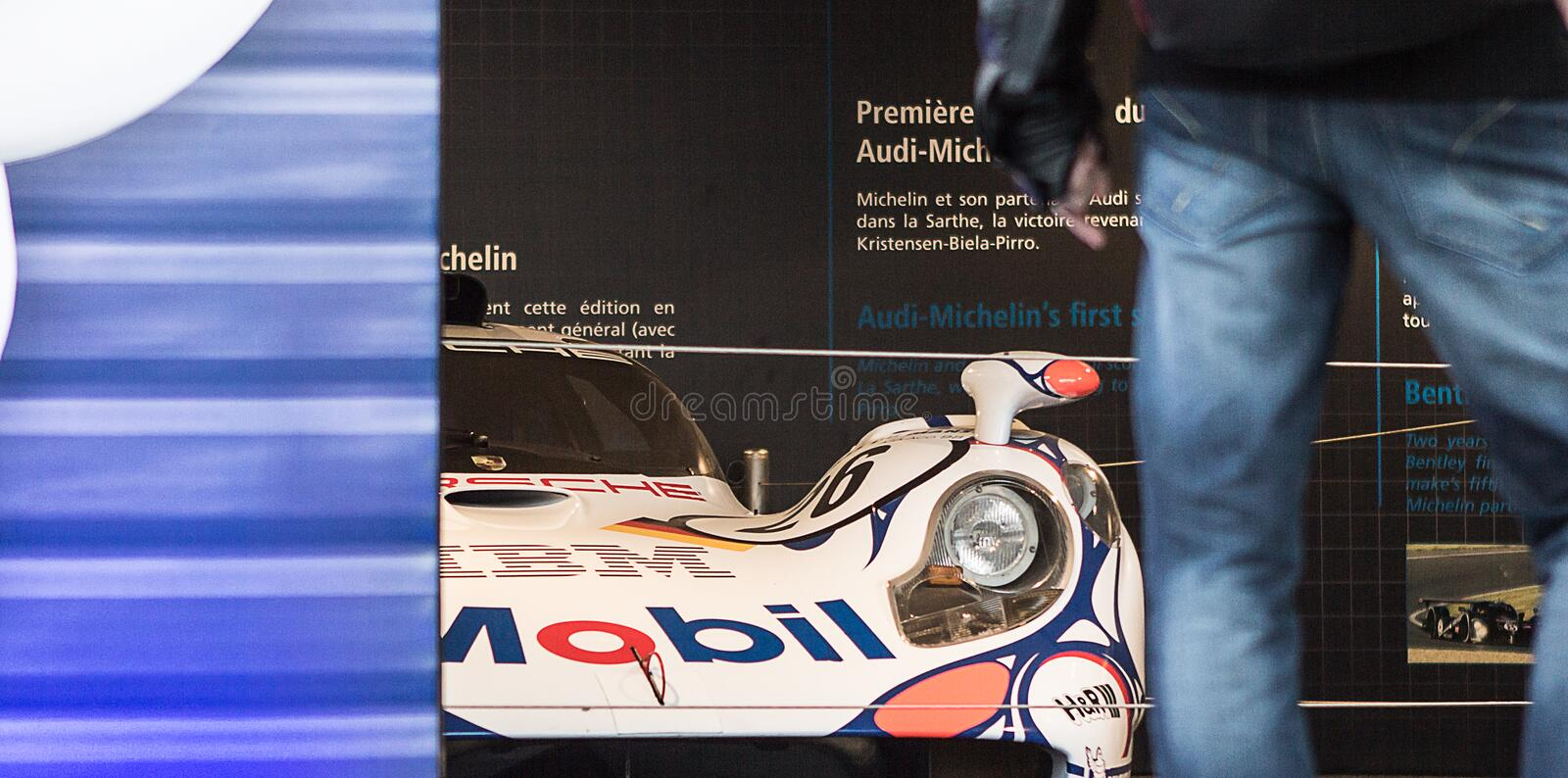 Le Mans royalty free stock photography