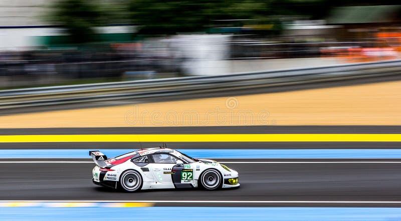 Le Mans porsche royalty free stock photography