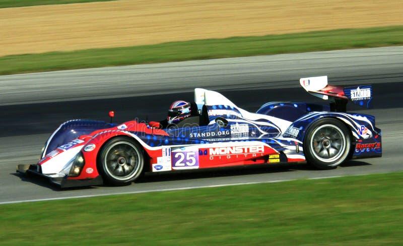 Le Mans-Prototyprennwagen lizenzfreies stockfoto