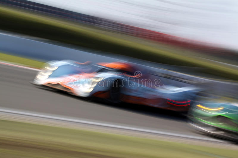 Le Mans Series race(LMS 1000km race) royalty free stock photo