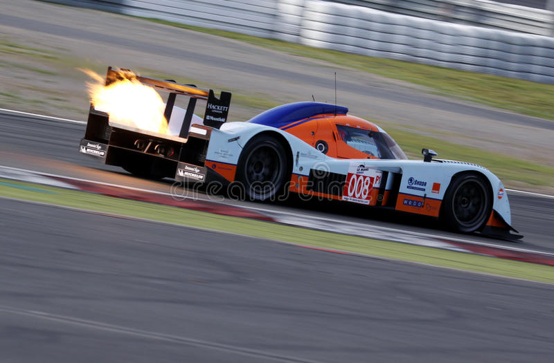 Le Mans Series race(LMS 1000km race) stock image
