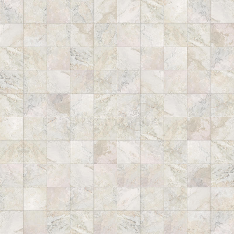 Le marbre sans couture carré couvre de tuiles la texture images stock
