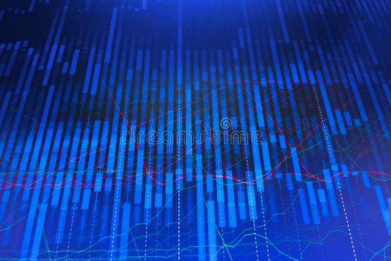 Le marché boursier cite le graphique illustration libre de droits