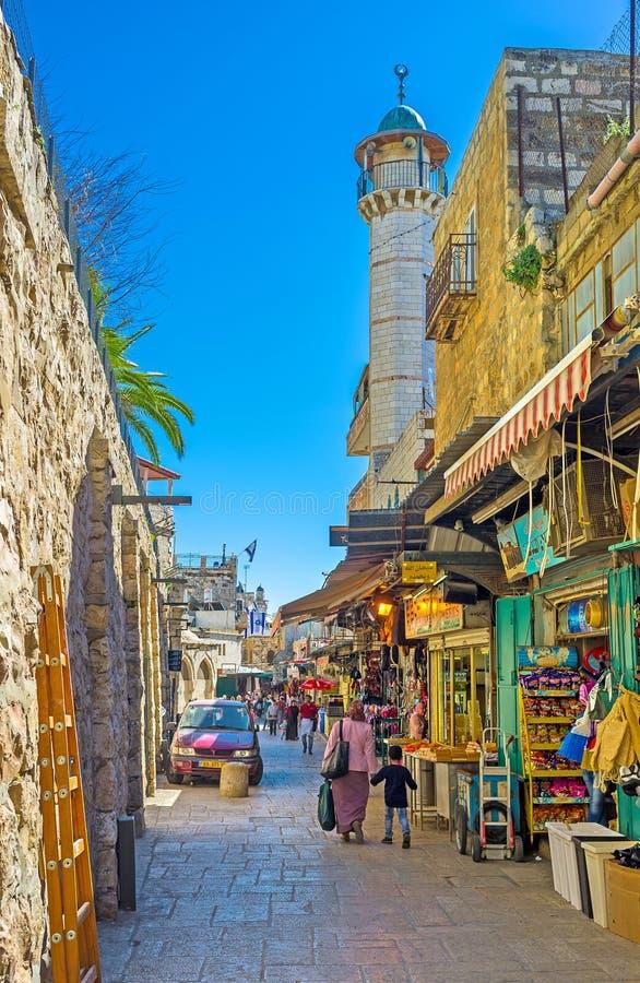 Le marché de la vieille ville photo stock
