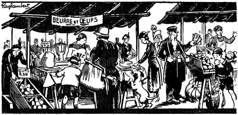 Le Marché-1 Free Public Domain Cc0 Image