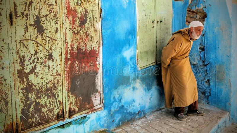 Le Maroc antique image libre de droits