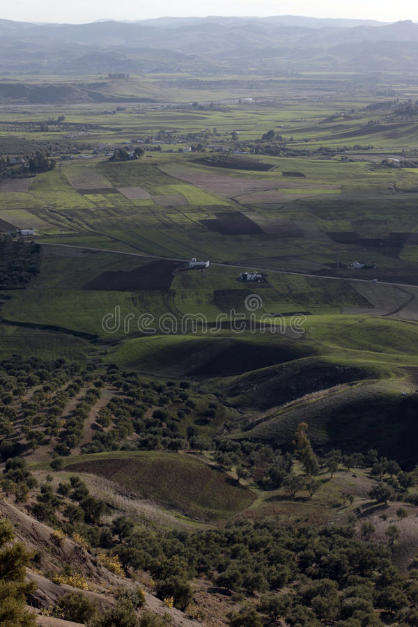 Le Maroc pastoral photo stock