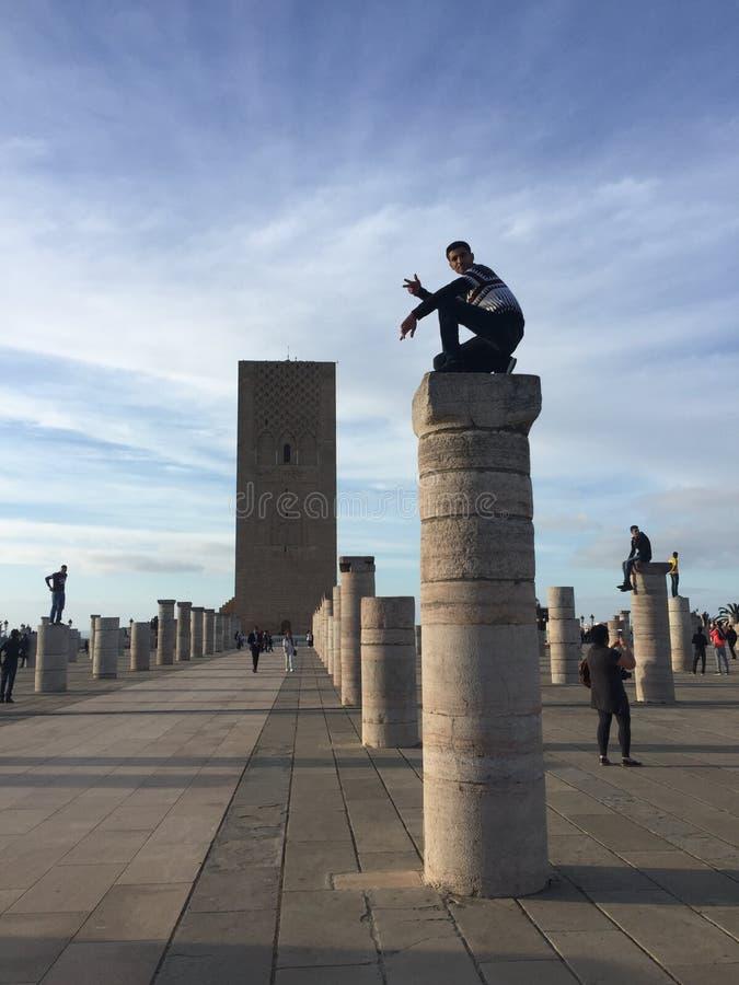 Le Maroc Rabat photo stock
