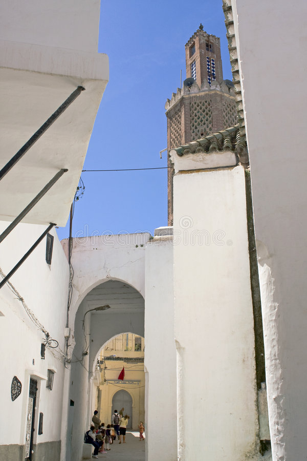 Le Maroc, Tanger image stock