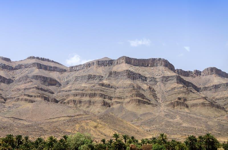 Le Maroc, vallée de Draa photographie stock