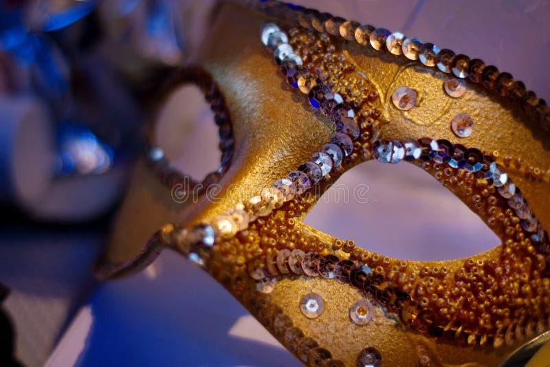 Le masque de carnaval photographie stock