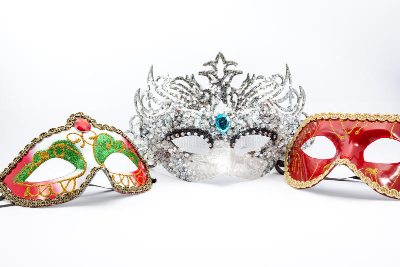 Le masque de carnaval photos stock