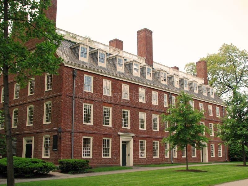 Le Massachusetts Hall (Université d'Harvard) photo stock