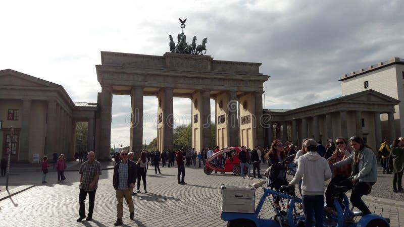 Le massif de roche de Brandenburger photographie stock libre de droits