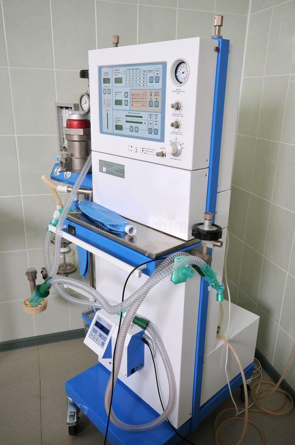 Le matériel dans l'hôpital. photo stock