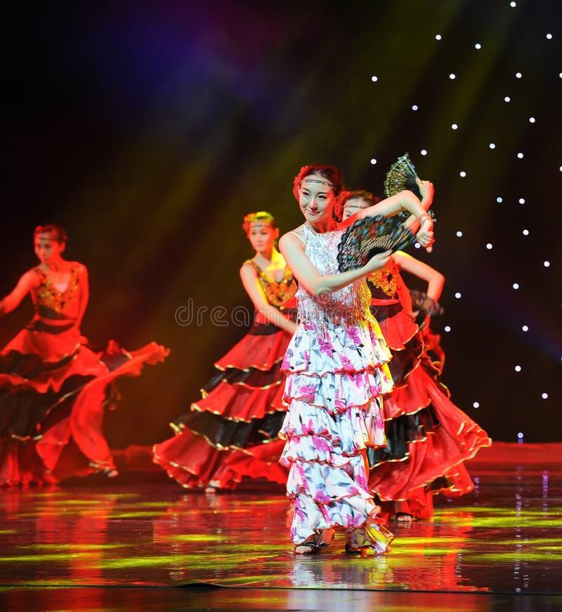 Le Matador Dance ---La danse nationale espagnole images stock