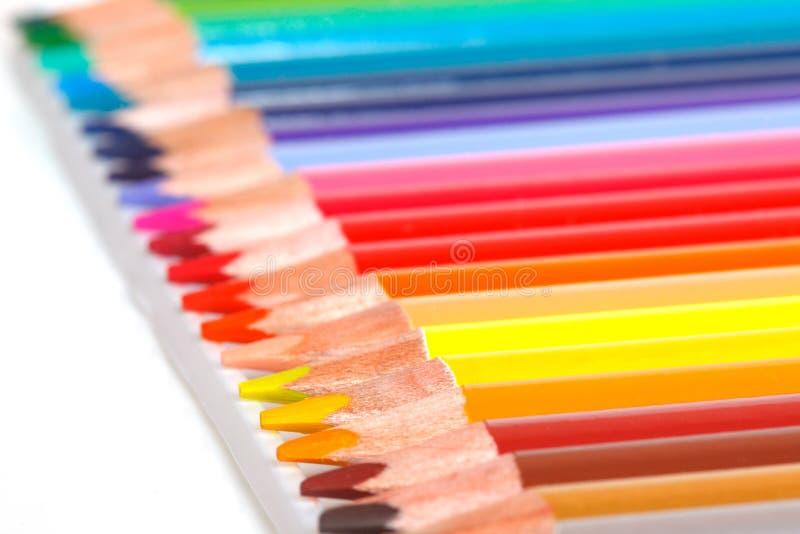 Le matite colorate immagine stock libera da diritti
