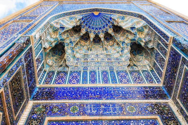 Le mausolée de Tamerlane le conquérant, à Samarkand, Uzbekist images stock