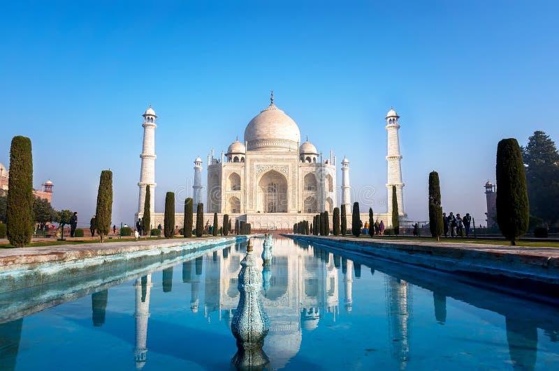 Le mausolée musulman indien le plus célèbre à Âgrâ dans l'Inde photo stock