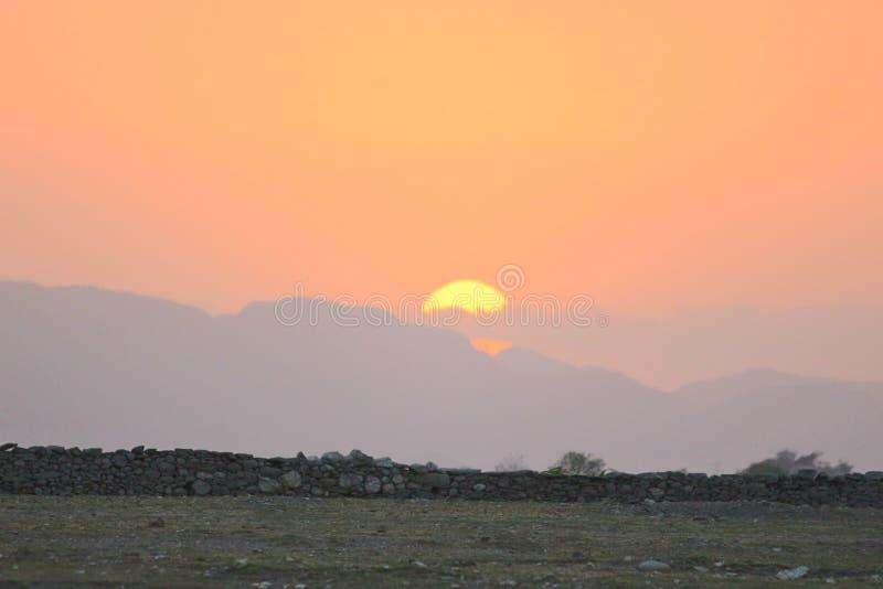 Le meilleur coucher du soleil jamais Aimez-le photos libres de droits