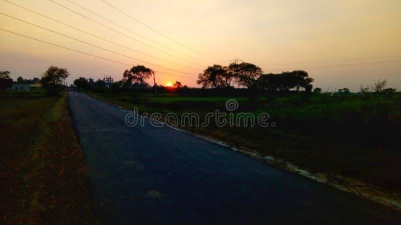 Le meilleur coucher du soleil photos stock