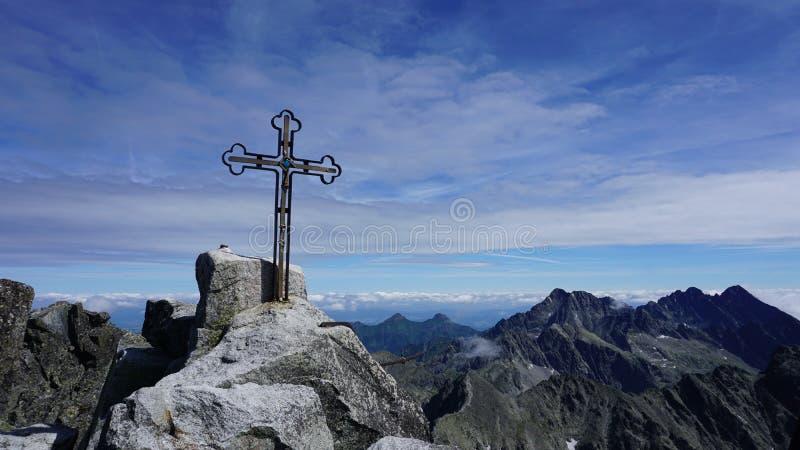 Le meilleur des hautes montagnes de Tatras photo libre de droits