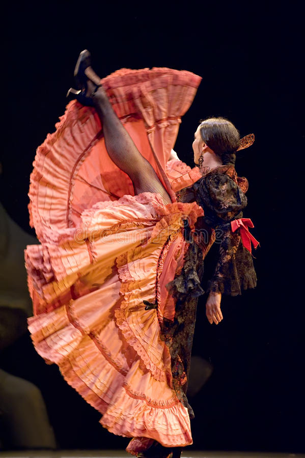 Le meilleur drame de danse de flamenco   photos stock