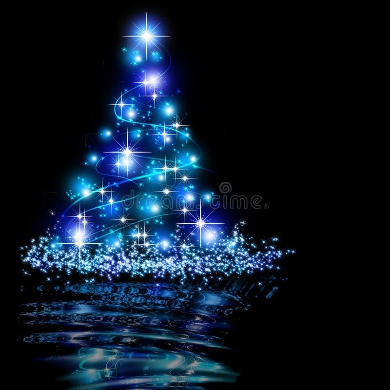 Le meilleur fond d'arbre de Noël illustration libre de droits