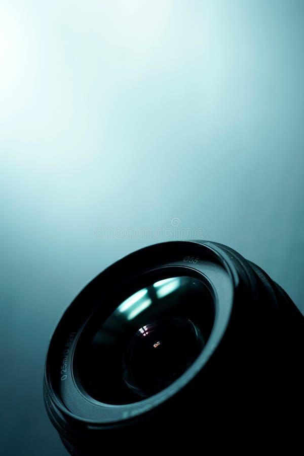 Le meilleur objectif de caméra image libre de droits