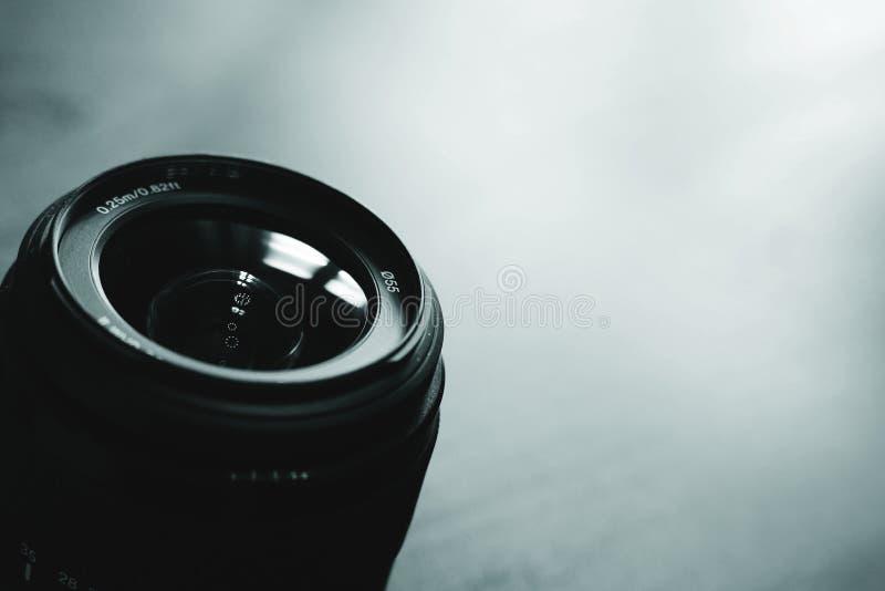 Le meilleur objectif de caméra photo stock