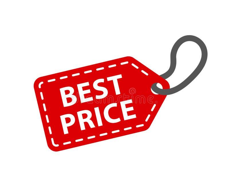 le meilleur prix à payer Vecteur d'†de papier rouge de labels « illustration de vecteur