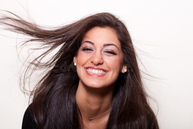 Le meilleur sourire est un sourire réel photographie stock libre de droits