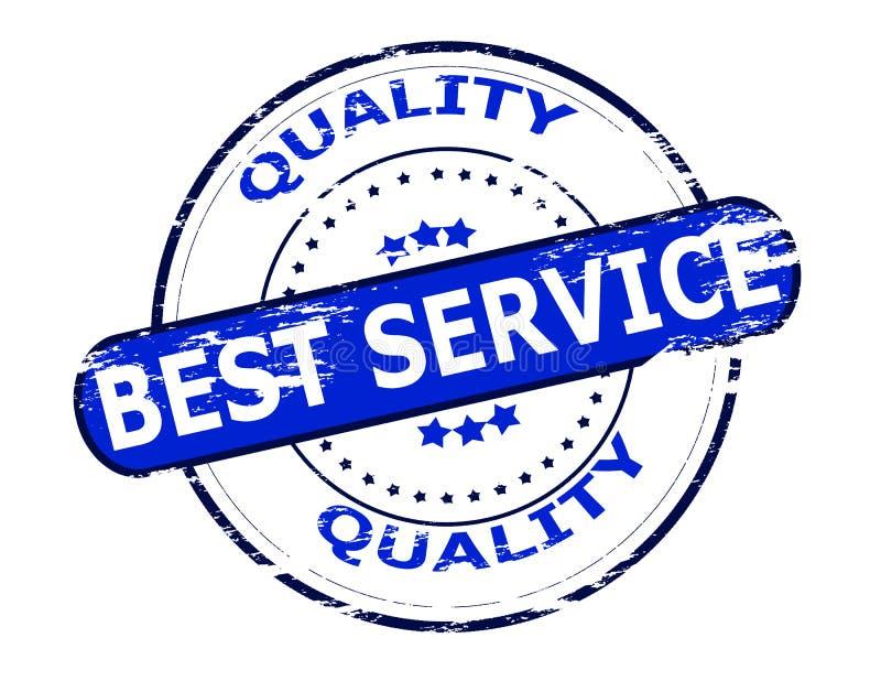 Le meilleurs service et qualité illustration libre de droits